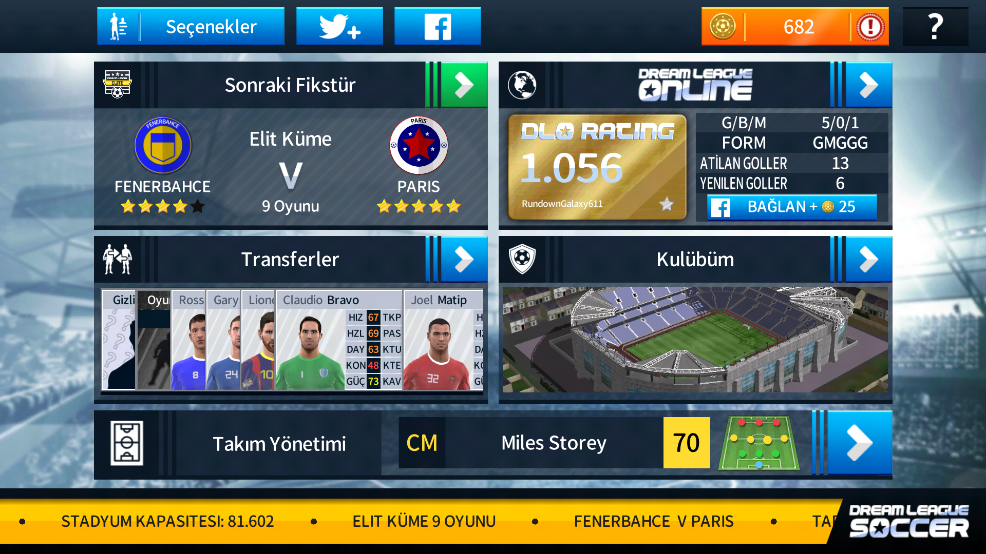 Dream league soccer 18 ayarlar, dream league soccer 2018, dream league soccer 2018 görüntü ayarları, dream league soccer online nasıl oynanır, dream league soccer 2018 ses ayarları, Dream league soccer 2018 ayarlar