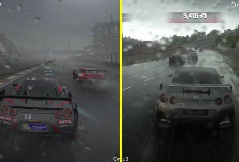 Forza 7 vs Driveclub Karşılaştırması - Yağmur Efektleri