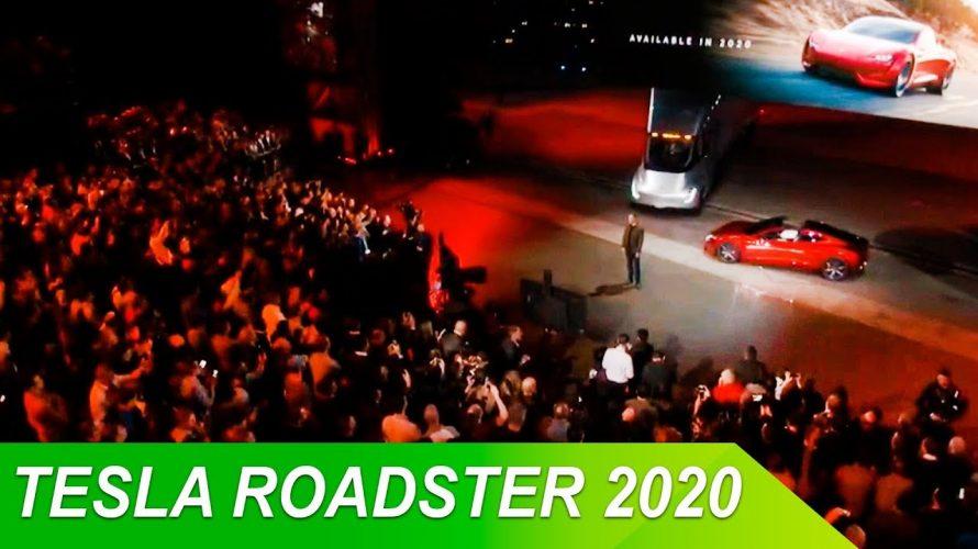 Elon Musk Yeni Tesla Roadster'i tanıttı!
