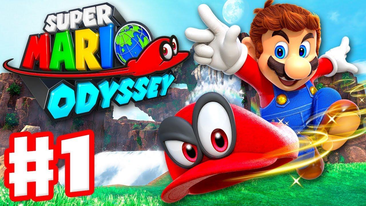 2017'nin En İyi Oyunları - Super Mario Odyssey