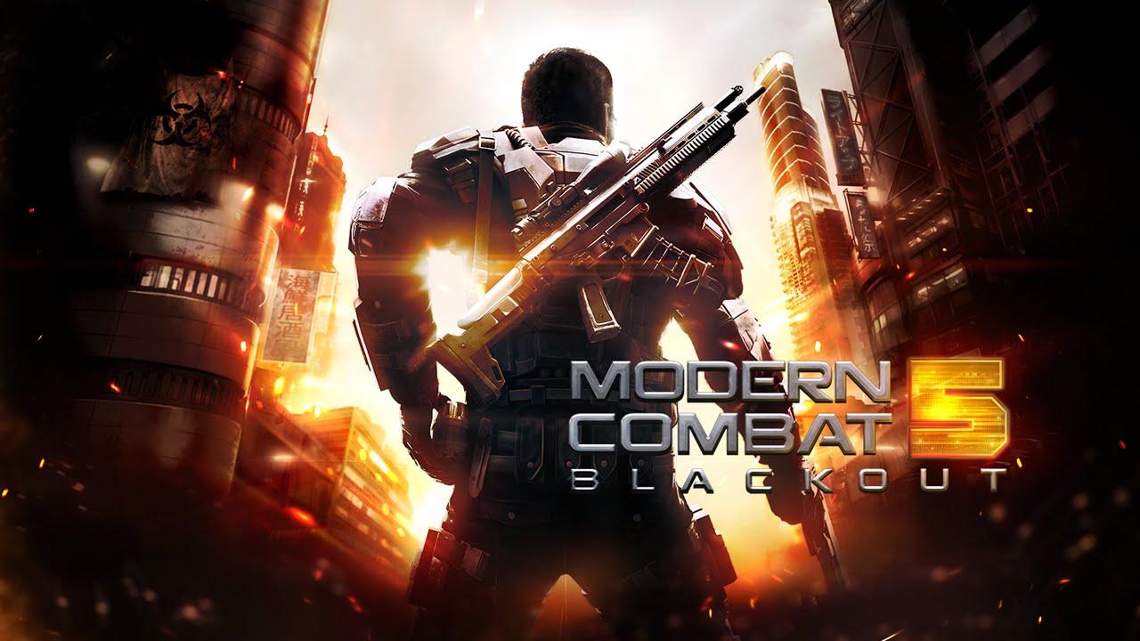 Modern Combat 5: Blackout bilgisayarda oynama