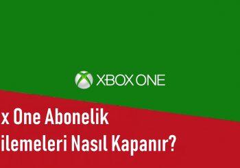 Xbox One Abonelik Yenilemeleri Nasıl Kapanır?