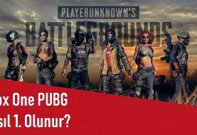 Xbox One PUBG Nasıl 1. Olunur?