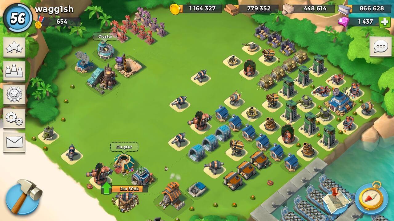Sizin İçin Seçtiğimiz 5 BlueStacks Oyunu - Boom Beach